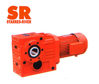 Explosion-proof Helical-worm Gearmotors